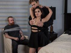Gabriella Paltrova & Michael Vegas in Dirty Double Cross - BRAZZERS