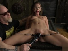 Astonishing porn scene Bondage crazy will enslaves your mind