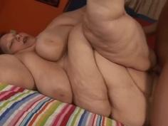 Redhead Supersized Granny fucked