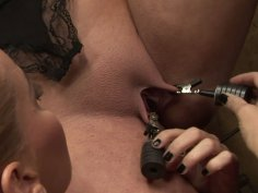 Dirty BDSM game with two curvy ladies Humpy Milla and Kathia Nobili
